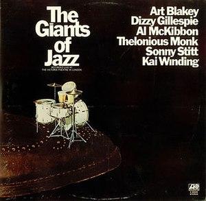 The Giants of Jazz (album) - Image: The Giants of Jazz (album)