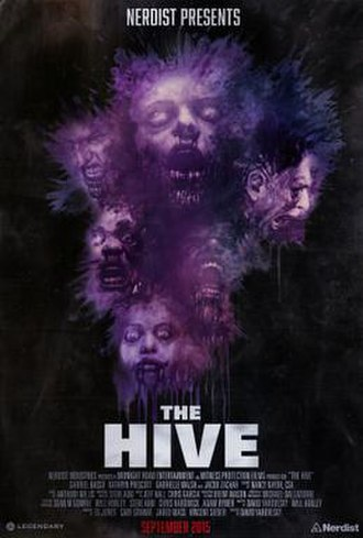 The Hive (2014 film) - Theatrical release poster