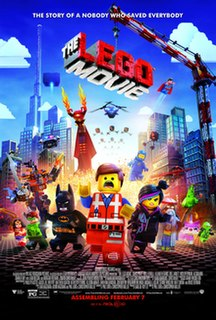 <i>The Lego Movie</i> 2014 animated film by Phil Lord and Chris Miller