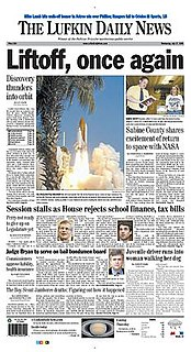 <i>The Lufkin Daily News</i> newspaper in Lufkin, Texas