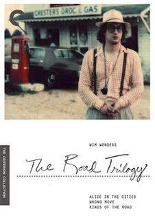 <i>Road Movie trilogy</i> Three 1974–1976 films by Wim Wenders