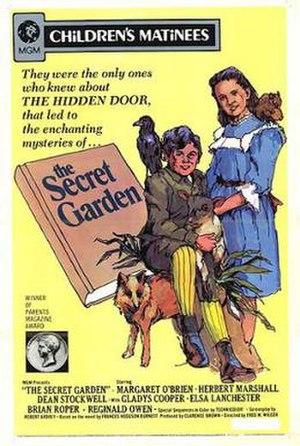 The Secret Garden (1949 film) - 1970 re-release poster