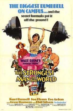 The Strongest Man in the World - Theatrical release poster