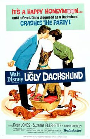 The Ugly Dachshund - Theatrical release poster