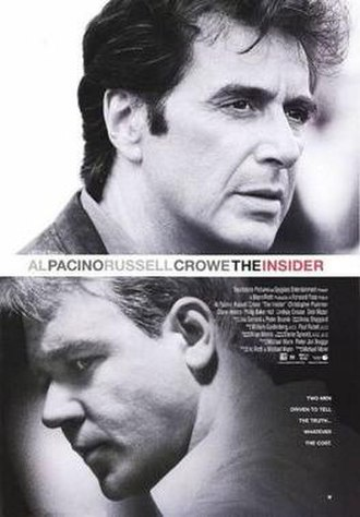 The Insider (film) - Theatrical release poster