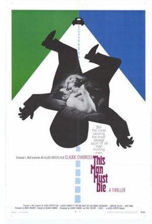 This Man Must Die - American film poster