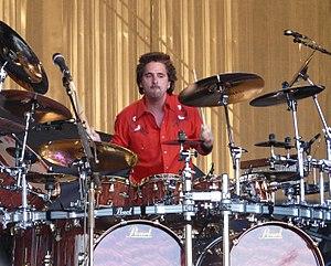 Todd Sucherman - Todd Sucherman performing with Styx on June 13, 2008 in Hinckley, MN