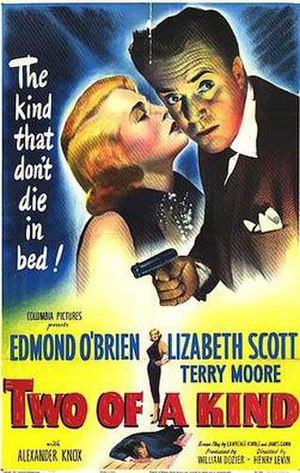 Two of a Kind (1951 film) - Theatrical release poster