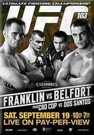 UFC 103 - Image: UFC103Poster