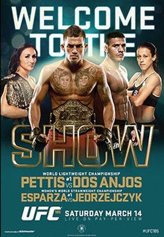 UFC 185 - Image: UFC 185 event poster