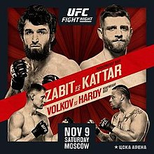 Image result for UFC on ESPN+21: Zabit vs. Kattar