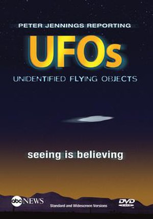 UFOs: Seeing Is Believing - DVD cover