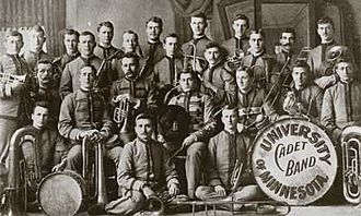 University of Minnesota Marching Band - The University of Minnesota Marching Band was founded in 1892 as the University Cadet Band.