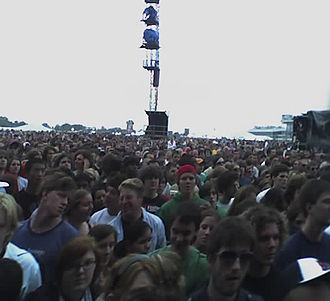 Pimlico Race Course - Audience at Virgin Festival 2006