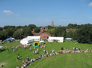 Southrepps - Image: Village Fayre 2007