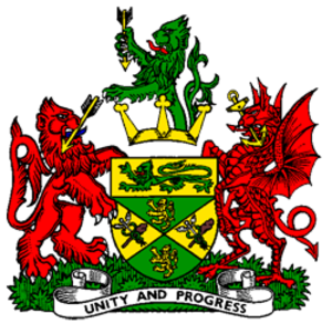 County Borough of Warley - Coat of arms of Warley Borough Council
