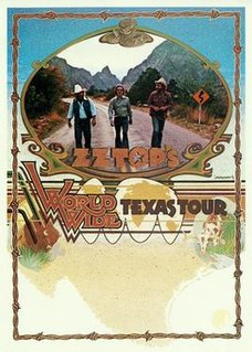 Worldwide Texas Tour Concert tour by band ZZ Top