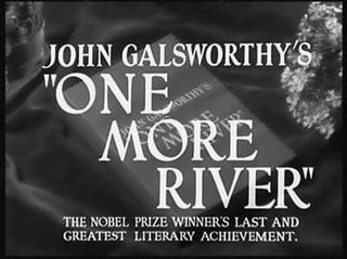 <i>One More River</i> 1934 film by James Whale