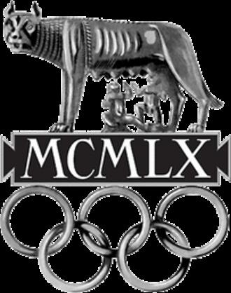 1960 Summer Olympics - Image: 1960 Summer Olympics logo