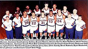 "1995–96 Illinois Fighting Illini men's basketball team - ""1995-96 Fighting Illini men's basketball team"""