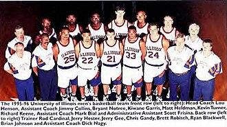 """1995–96 Illinois Fighting Illini men's basketball team - """"1995-96 Fighting Illini men's basketball team"""""""