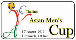 2010 Asian Men's Cup Volleyball Championship logo.png