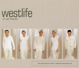 If I Let You Go 1999 single by Westlife