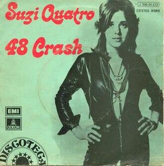 48 Crash - Image: 48 Crash (Suzi Quatro single cover art)