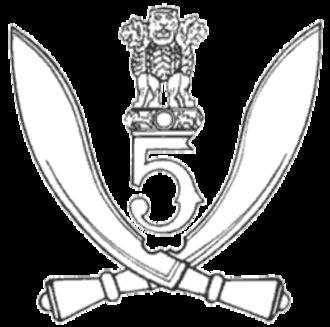 5 Gorkha Rifles (Frontier Force) - Image: 5 Gorkha Rifles