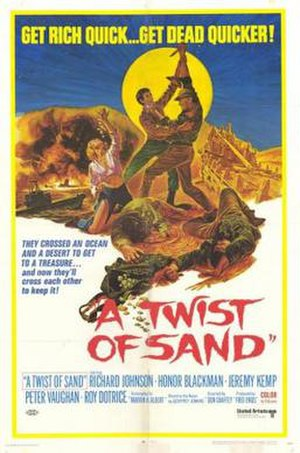 A Twist of Sand - Image: A Twist of Sand Film Poster