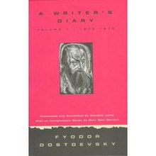 "Cover art to an English translation of ""A Writer's Diary"" by Fyodor Dostoyevsky"