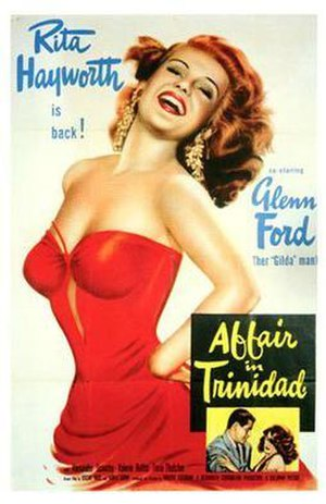 Affair in Trinidad - Theatrical release poster