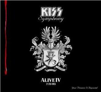 Kiss Symphony: Alive IV - Image: Alive IV KISS