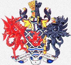 District of Alyn and Deeside - Image: Alyn Dee arms