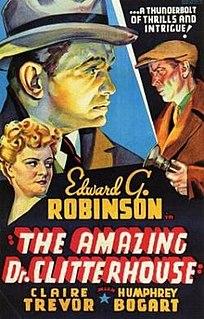 <i>The Amazing Dr. Clitterhouse</i> 1938 film by Anatole Litvak