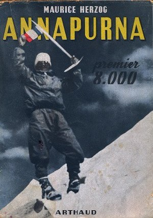 Annapurna (book) - First edition cover