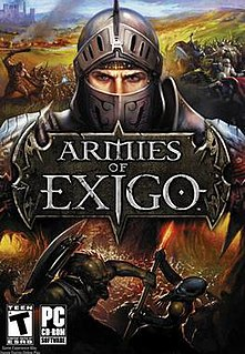<i>Armies of Exigo</i> video game