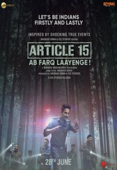 Picture of a movie: Article 15