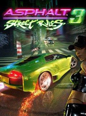 Asphalt 3: Street Rules - Image: Asphalt 3 Street Rules cover art