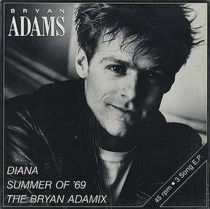 Diana (Bryan Adams song) - Image: BA Diana