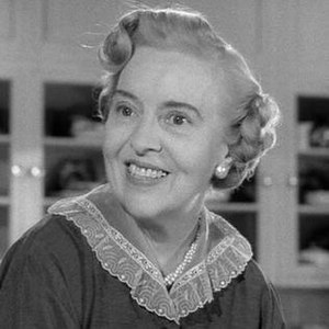 "Madge Kennedy - Kennedy as ""Aunt Martha"" in the first season Leave It to Beaver episode ""Beaver's Short Pants"", (1957)."