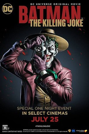 Batman: The Killing Joke (film) - Theatrical release poster