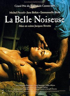 <i>La Belle Noiseuse</i> 1991 film by Jacques Rivette