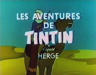 "Hergé's Adventures of Tintin - The title sequence of ""The Crab with the Golden Claws"""