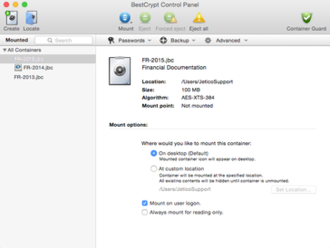 BestCrypt - Image: Best Crypt for Mac