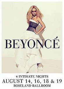 4 Intimate Nights with Beyoncé - Wikipedia