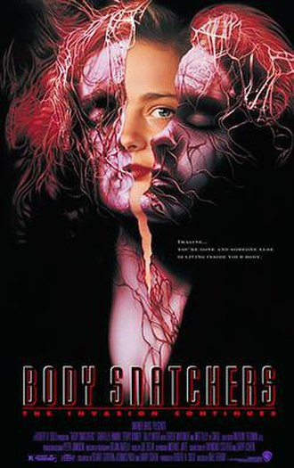 Body Snatchers (1993 film) - Theatrical release poster