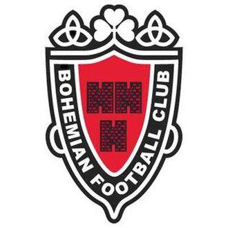 Bohemian F.C. - Bohs' previous crest