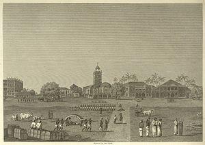 Horniman Circle Gardens - Bombay Green in 1768 - Horniman Circle Gardens since 1947