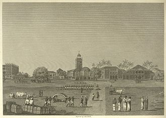 Horniman Circle Gardens - Bombay Green in 1768 - Horniman Circle Gardens since 1947